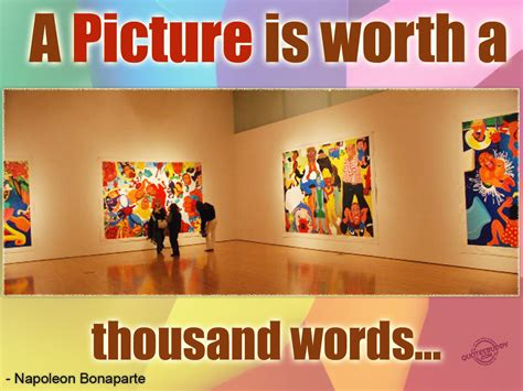 A Painting Is Worth A Thousand Words by A Picture Is Worth A Thousand Words