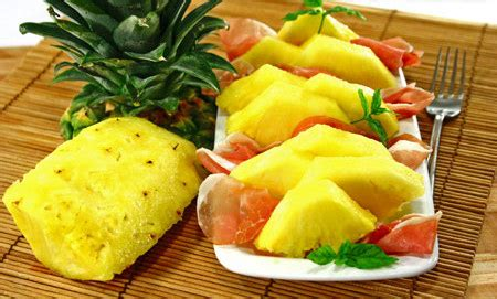 come presentare l ananas a tavola l ananas in tavola
