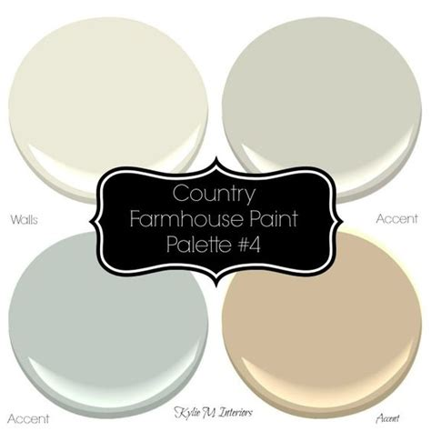 sherwin williams 4 neutral farmhouse country paint palettes paint palettes hue and warm