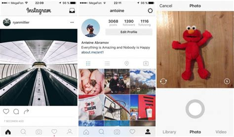 instagram layout tester instagram rolls out black and white ui to some users