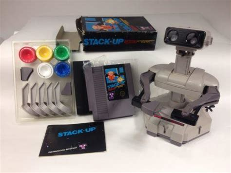 Box Set Stack Early stack up 100 complete w box nintendo nes 1985 plus rob robot ne get a grip more