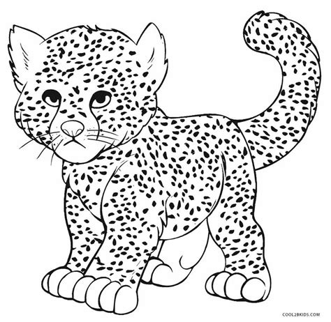 cheetah coloring pages printable cheetah coloring pages for cool2bkids