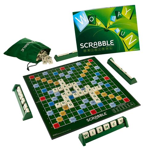 Scrabble Original Board New Version Fast Delivery Ebay