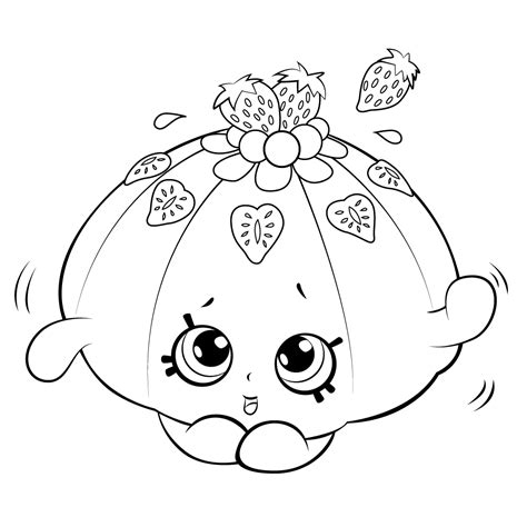 kawaii fruit coloring pages cute fruit jello coloring page get coloring pages