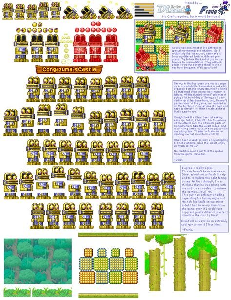 dk king of swing the spriters resource full sheet view donkey kong