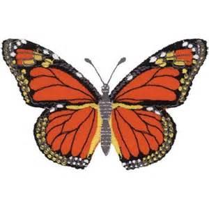 Monarch Design Monarch Butterfly Applique Embroidery Design Annthegran