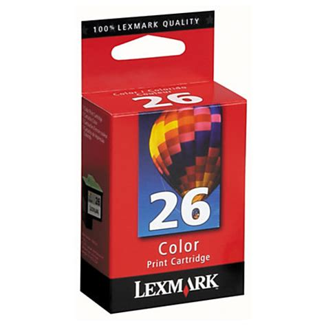 Office Depot Lexmark Ink Coupons Lexmark 26 10n0026 Color Ink Cartridge By Office Depot