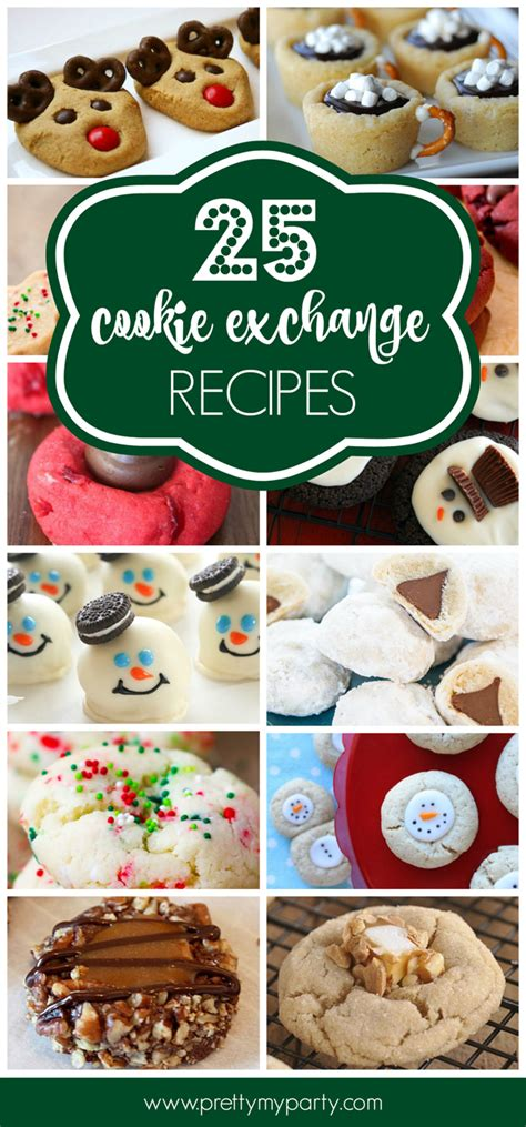 25 best christmas cookie exchange recipes pretty my party