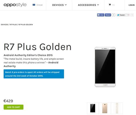 Ultrathin Oppo A33 pre orders begin again for oppo r7 plus golden