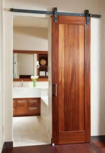 Barn Doors For Bathroom Rustic Style Barn Door Modern Industrial