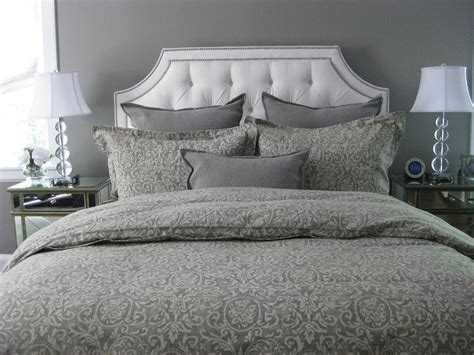 ethan allen upholstered beds ethan allen upholstered bed transitional bedroom benjamin moore galveston gray