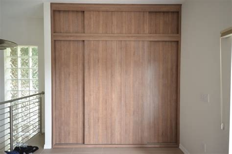 Closet Organizers With Doors by Modern Sliding Closet Doors Modern Closet Organizers