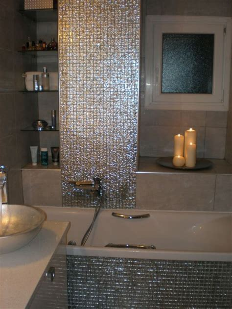 bad fliesen mosaik elegante gl 228 nzende mosaik fliesen f 252 rs bad romantische