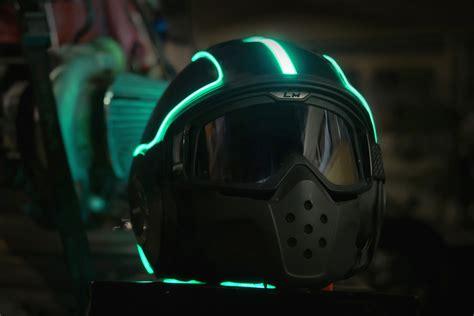 motorcycle helmet light kit lightmode s series helmet kit hiconsumption