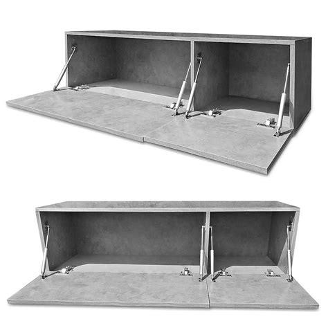 wandschrank 120 cm 120cm lowboard grau tv bank fernsehtisch
