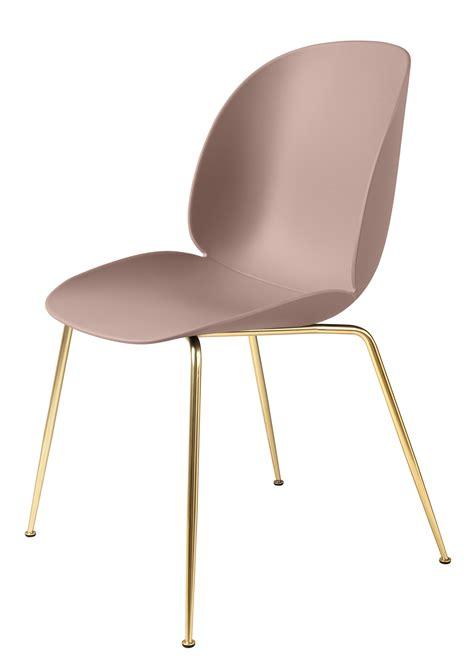 chaises paillées chaise beetle gamfratesi plastique pieds laiton
