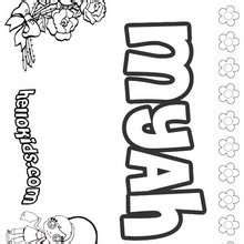coloring pages of the name morgan morgan coloring pages hellokids com