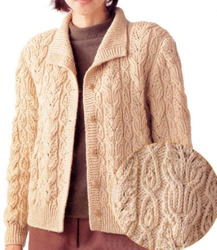japanese knit pattern free japanese cabled cardigan free knitting pattern knitting bee