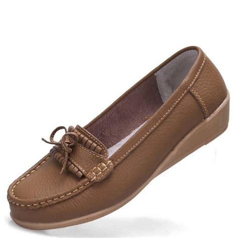 flats shoes buy shoes flats genuine leather