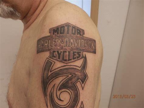 Harley Davidson Tattoos Tribal by Tribal Harley Davidson Bresil90