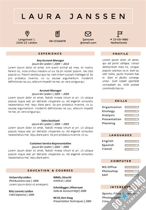 magnificent awesome resume templates free graphic design template is