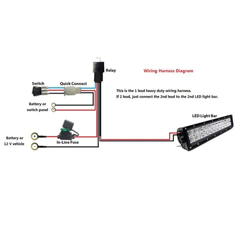 nilight wiring diagram light bar light bars for trucks