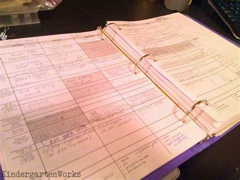 Printable Lesson Plan Binder | how to make a teacher planning binder binder basics