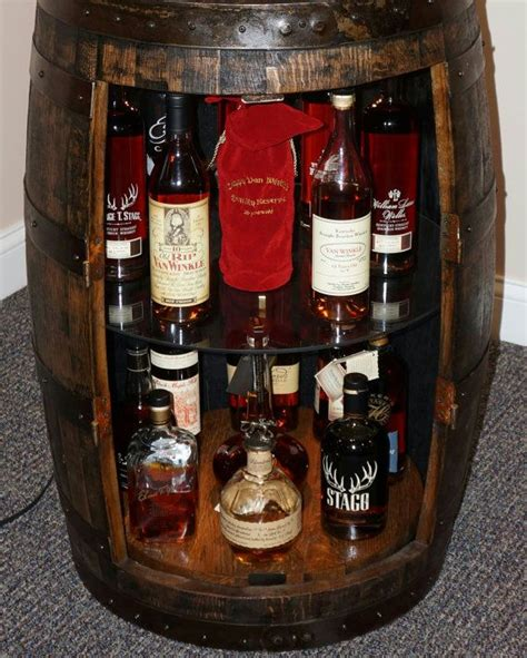wine barrel liquor cabinet plans to build how to make a liquor cabinet out of a