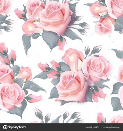 english rose pattern vector english roses seamless pink vintage rose seamles pattern