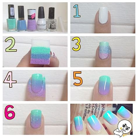 how to do an ombre color 25 best ideas about ombre nail on ombre