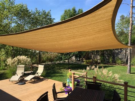 backyard sails shades improve your backyard install a shade sail