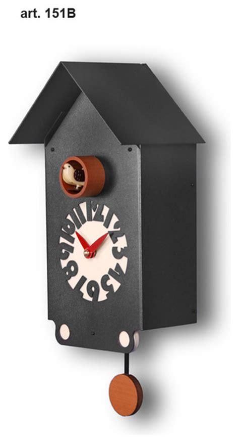 Modern Coo Coo Clock little home 151 b modern cuckoo clocks made in italy