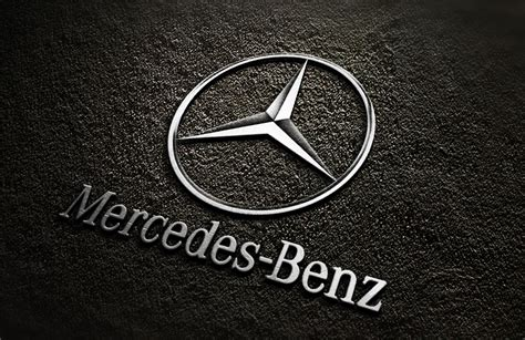 logo mercedes 3d fast convert your logo into 3d mockup silver design for 1