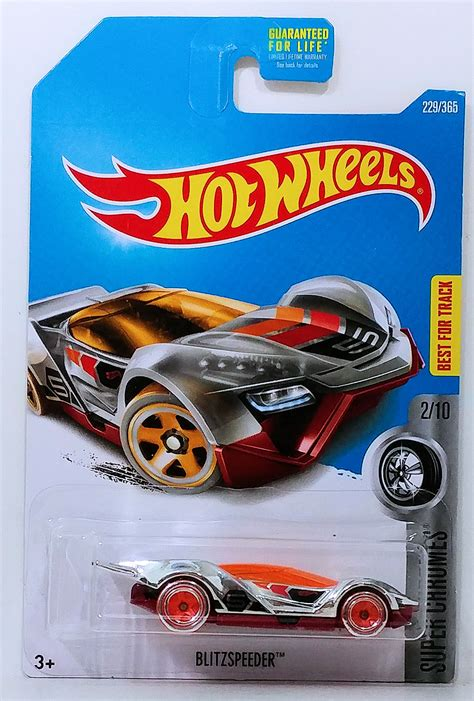 Wheels Blitzspeeder Chromes 229 K2017 blitzspeeder model cars hobbydb