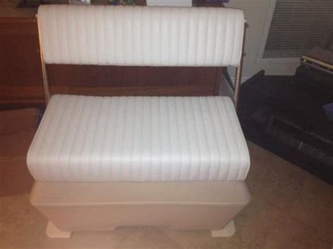 todd boat cooler seats wise todd swing back cooler seat the hull truth