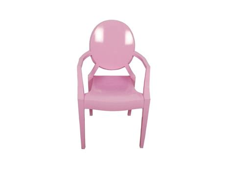 Pink Ghost Chair by Ottawa