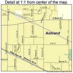 ashland oregon map ashland oregon map 4103050