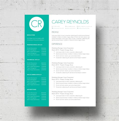 Resume Color by Custom Colors Resume Template Cover Letter Template