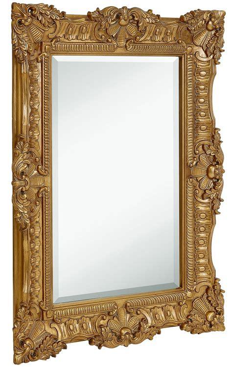 bathroom mirror frame ideaforgestudios hamilton hills large ornate gold baroque frame mirror