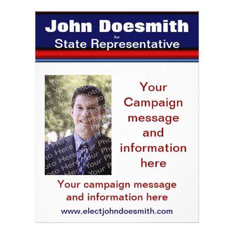 free political flyer templates political election caign flyer template zazzle