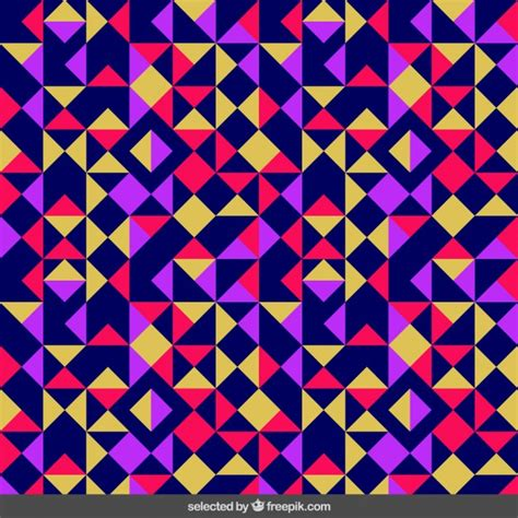 triangle pattern freepik colored triangular pattern vector free download