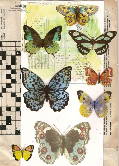 Butterfly Decoupage Paper - 61 best decoupage papers butterflies images on
