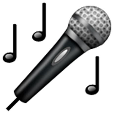 microphone emoji copy paste emojibase
