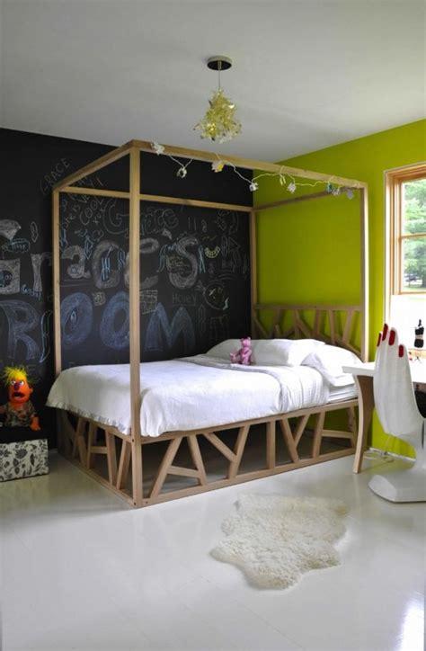 chambre noir et vert 77 id 233 es cr 233 atives pour faire un tableau noir en peinture