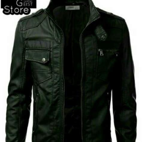 Jaket Kulit Pria Di jaket motor jaket kulit pria jaket kulit sintetis