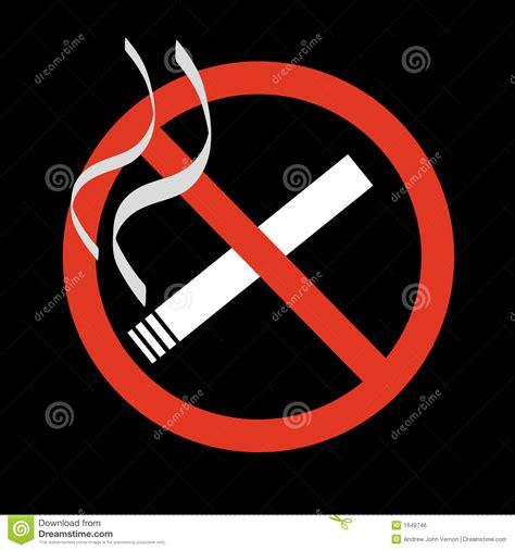 no smoking sign black background no smoking sign royalty free stock image image 1649746
