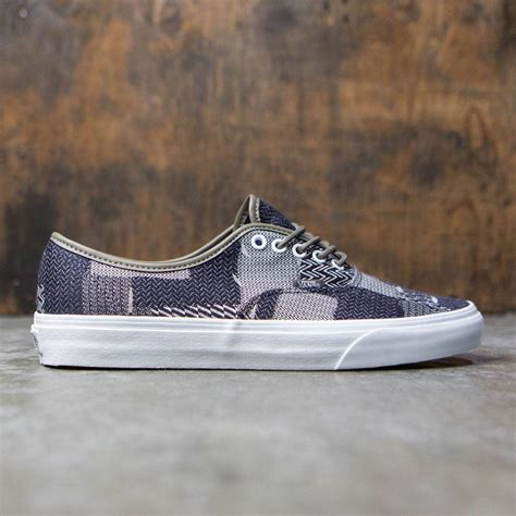 Vans Authentic Denim vans authentic denim patchwork navy true white
