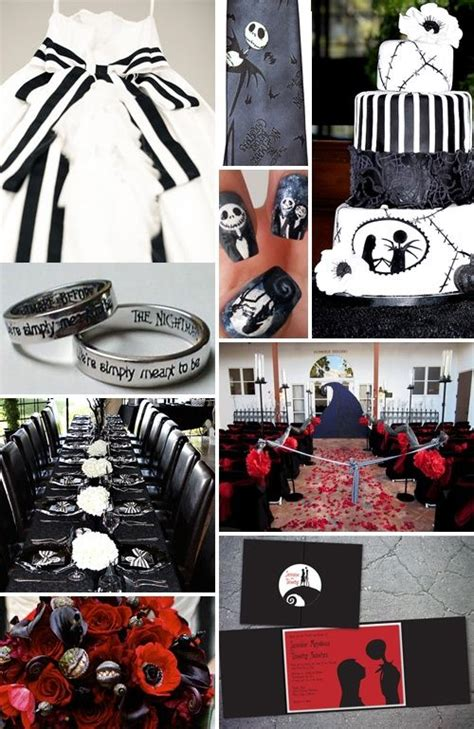 nightmare before christmas wedding ideas disney