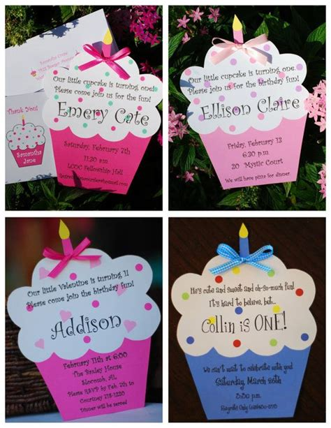 cupcake invitations template best 25 cupcake invitations ideas on cupcake