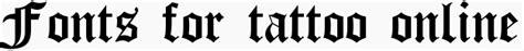 punk tattoo font generator tattoo fonts generator online
